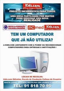 Entrega PCs recondicionados